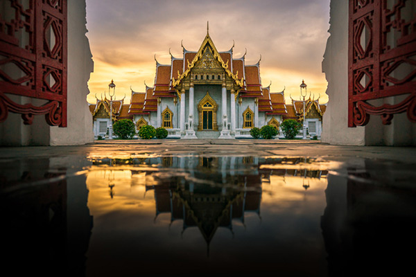 Wat Benjamabhopit temple one of the best places to visit in Thailand