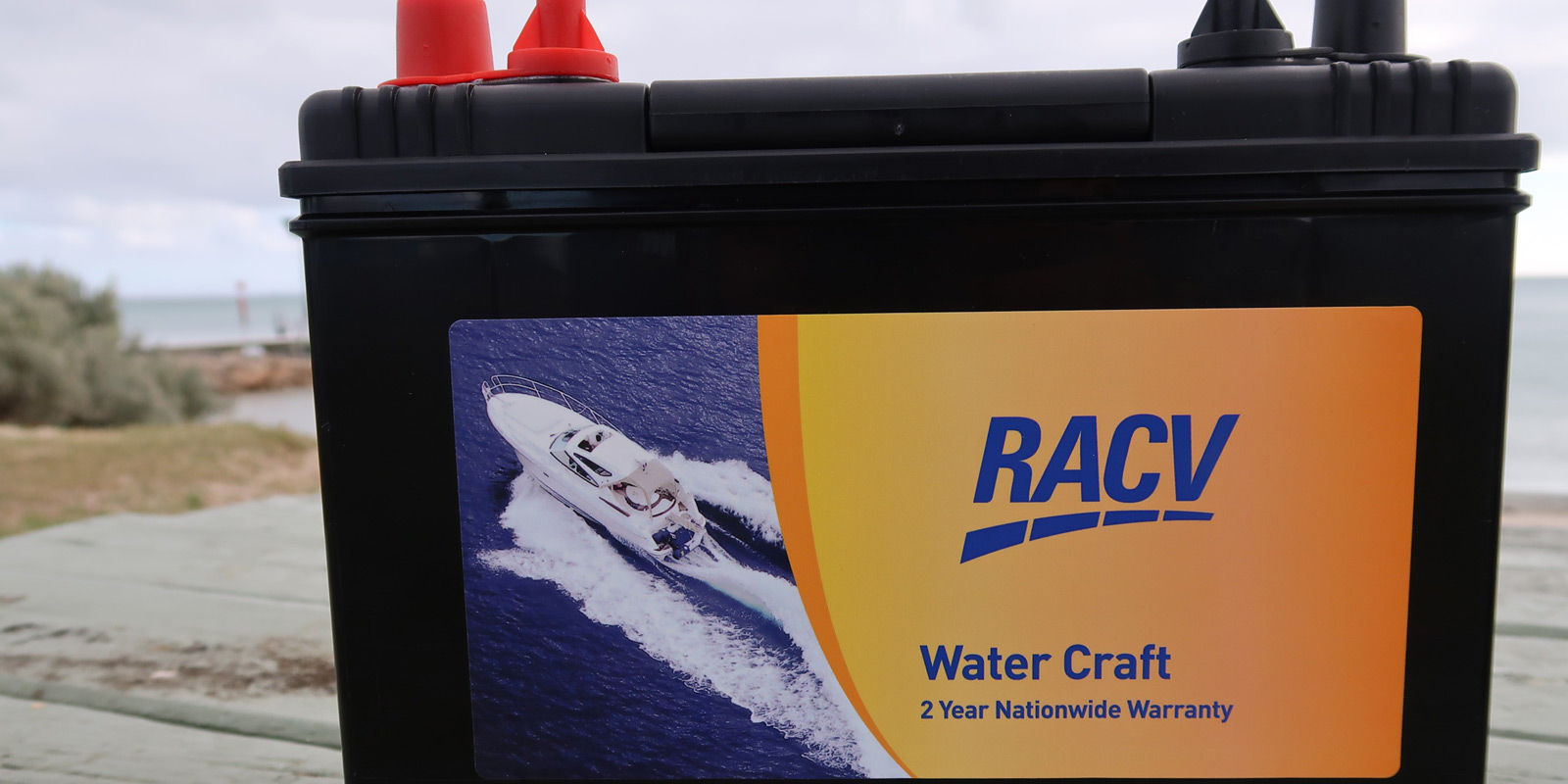 RACV Marine Batteries | To fit a variety of boats and yachts