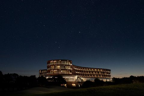Cape Schanck resort at night