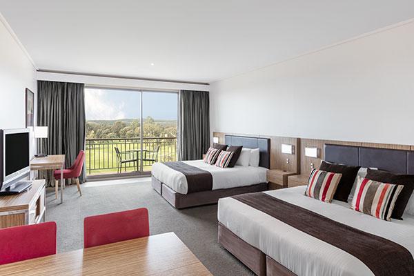 Racv Travel Insurance >> Premium Fairway Room At RACV Goldfields Resort