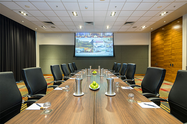 Set up conference room at RACV City Club